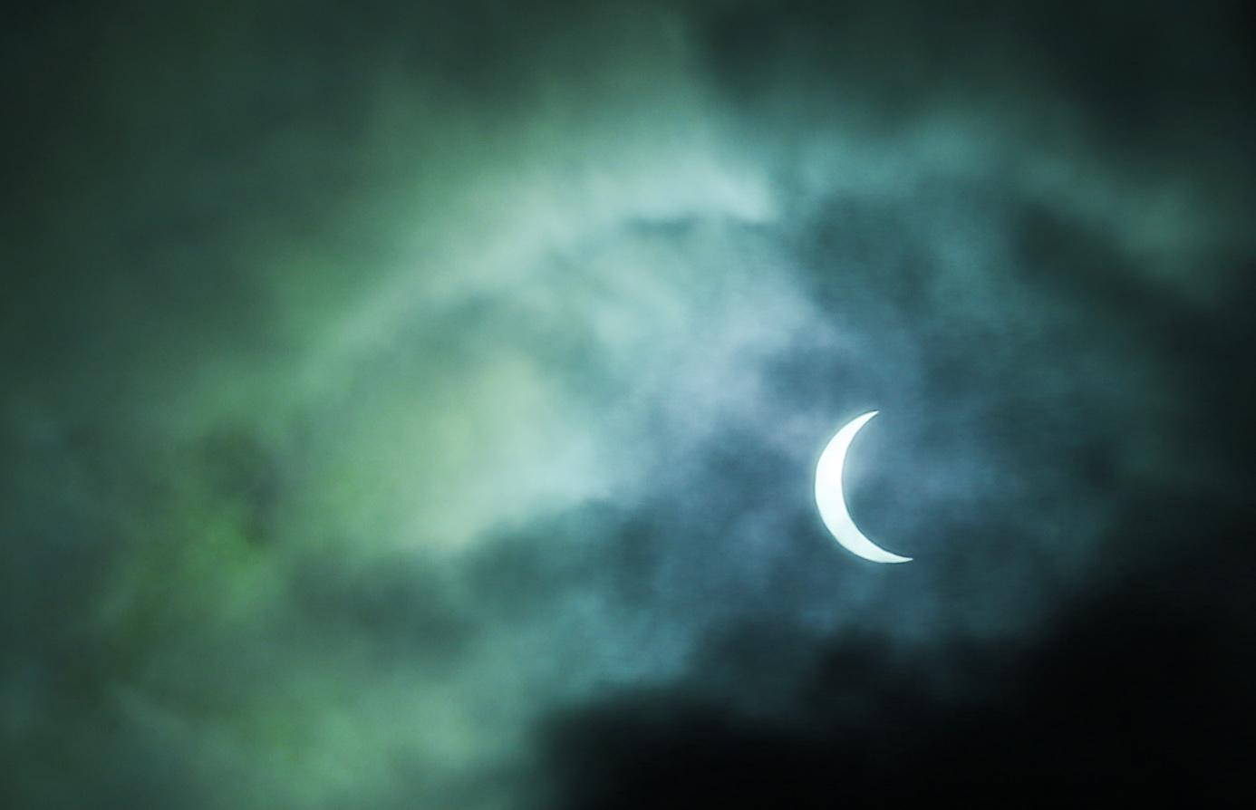 ikh_eclipse_March20_Sjovegan. mars 2015 utenfor Sjøvegan vgs